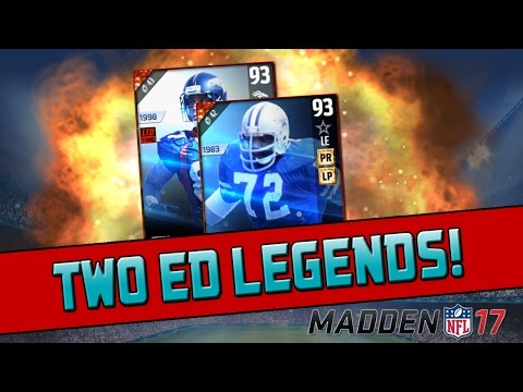 Ed Too Tall Jones & Ed McCaffery! | Madden 17 Ultimate Team - Legend Pack Opening