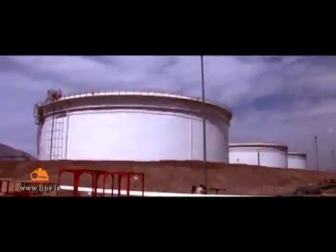 iran 100% home-made Oil Storage Tanks Design and Construction
