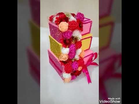 Paper Cake | Handmade Gift Box | DIY