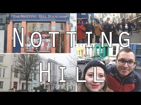 vlog: Notting Hill/ The Travel Bookshop/ Portobello Market...