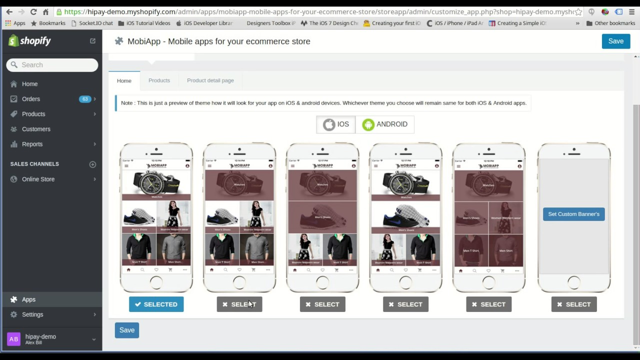 How to get mobile app for Shopify Store ? - YouTube