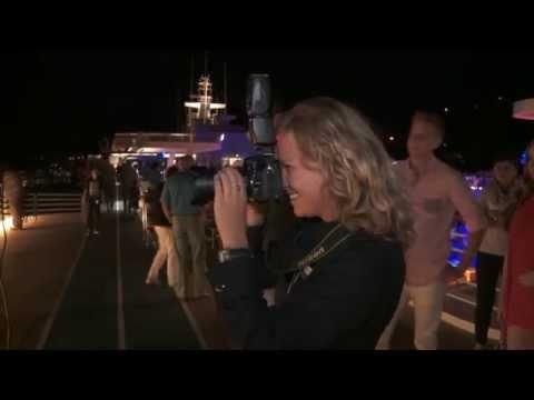 Photo Shooting On Pool Deck Of Mein Schiff 3
