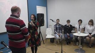 Творческий вечер поэта  Н.А.Зиновьева в БСЦ ''Тэффи'', г.Тихвин 25.10.2017 г