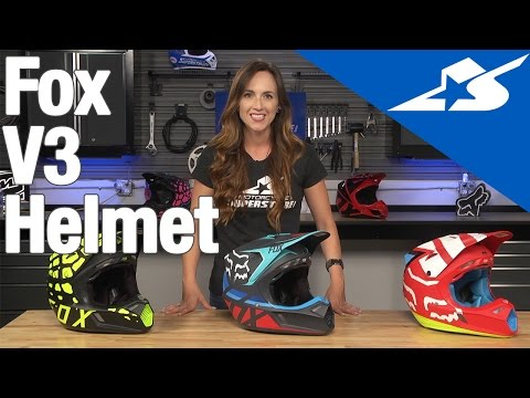 Fox V3 Helmet Review | Motorcycle Superstore