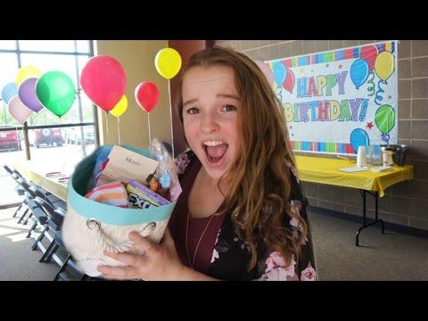 DIY Inexpensive Birthday Gift Basket