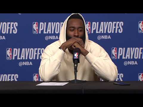 James Harden Postgame  - Game 6  Warriors vs Rockets  2019 NBA Playoffs
