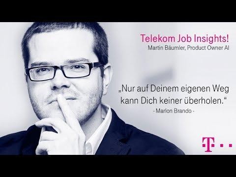 Social Media Post: Job Insights! Heute: Martin Bäumler, Product Owner AI