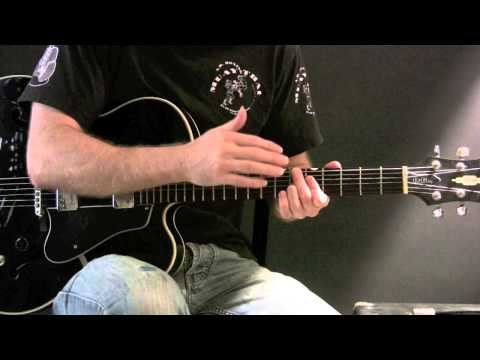 Trick for Playing a Diminished Scale over a Dominant 7 Chord