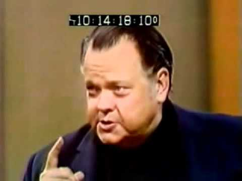 Orson Welles on Cold Reading