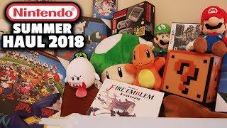 HUGE NINTENDO SUMMER HAUL 2018 - ThinkGeek, Gamestop, Nintendo NY & MORE!