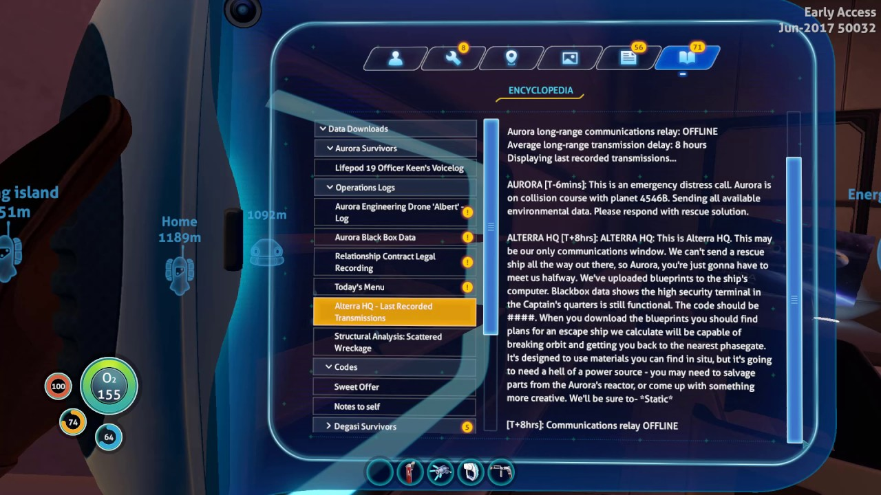 Subnautica How To Get Into The Captain S Quarters With