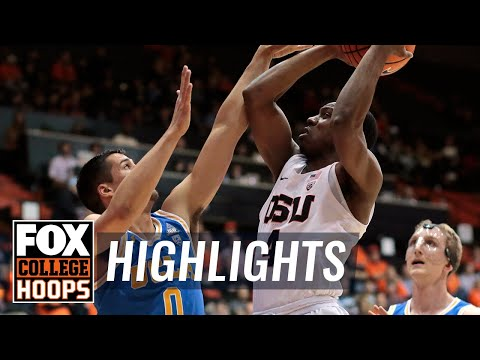 UCLA vs Oregon State | Highlights | FOX COLLEGE HOOPS
