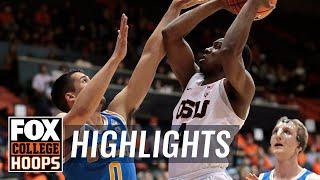 UCLA vs Oregon State | Highlights | FOX COLLEGE HOOPS