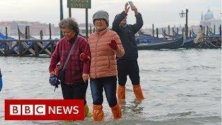 Venice hit by severe flooding - BBC News