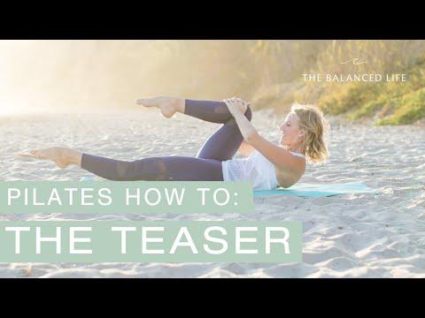 The Pilates Teaser // Pilates Exercise Breakdowns