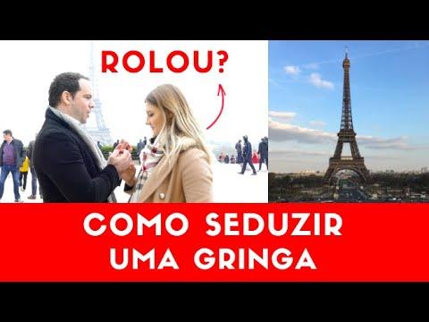 Como SEDUZIR Uma Gringa Gabriel Poliglota feat Lina Vasquez
