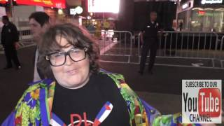 Andy Milonakis raps outside Roosevelt Hotel in Hollywood