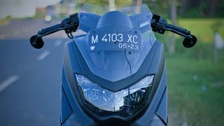 Gallery Modifikasi Yamaha N Max Black #01