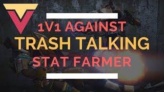 Hilarious 1v1 Against Trash Talking Stat Farmer