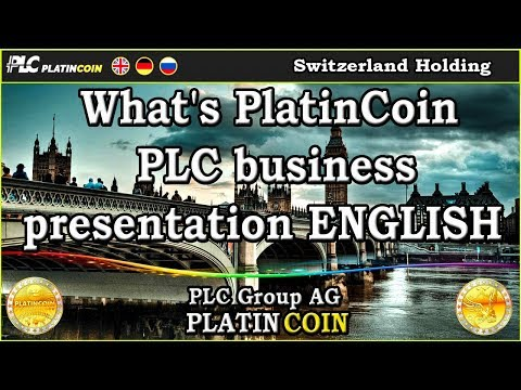 What's PlatinСoin - PLC business presentation ENGLISH