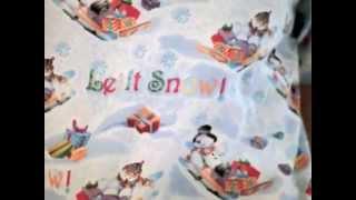 Christmas Scrubs - Sleigh Bells Scrub Top