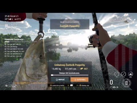 Fishing Planet #69 Unikatowy Żuchwik Pospolity (Floryda)