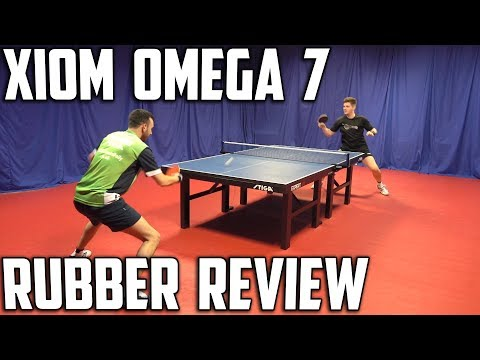 Xiom Omega VII Euro and Pro Rubber Review