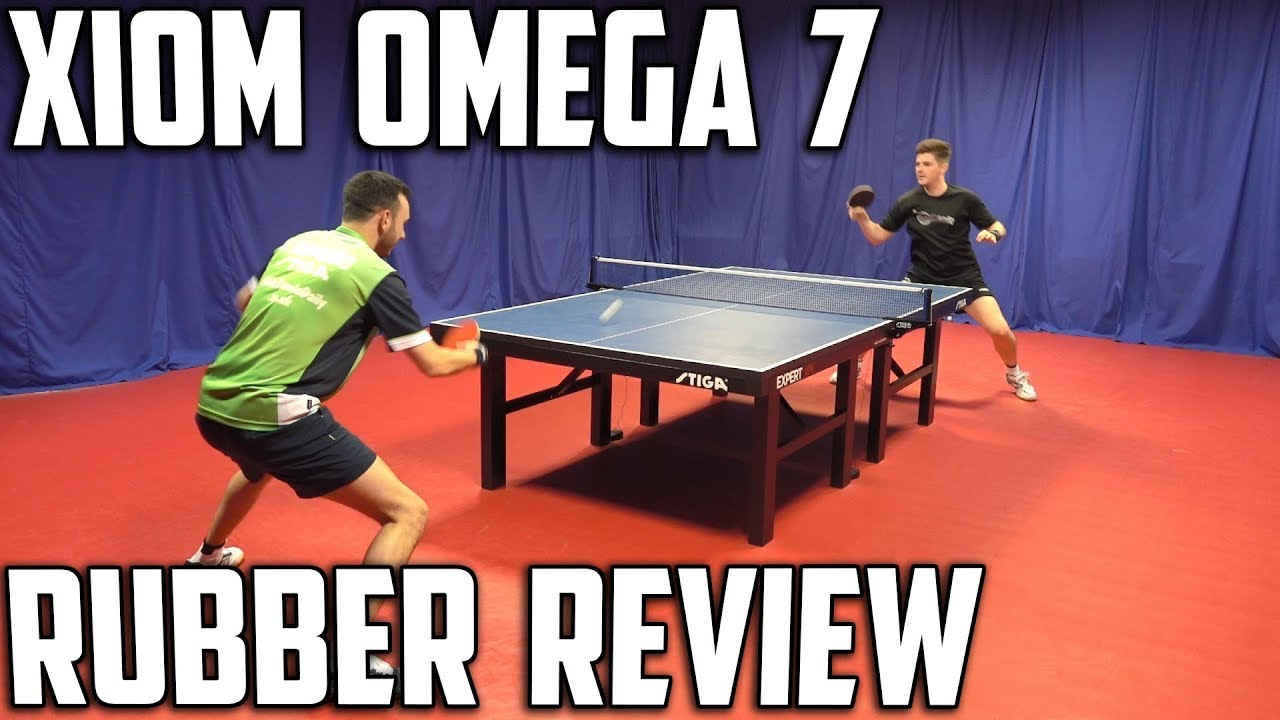 Xiom Tischtennis Beläge Xiom Omega Vii Euro And Pro Rubber Review