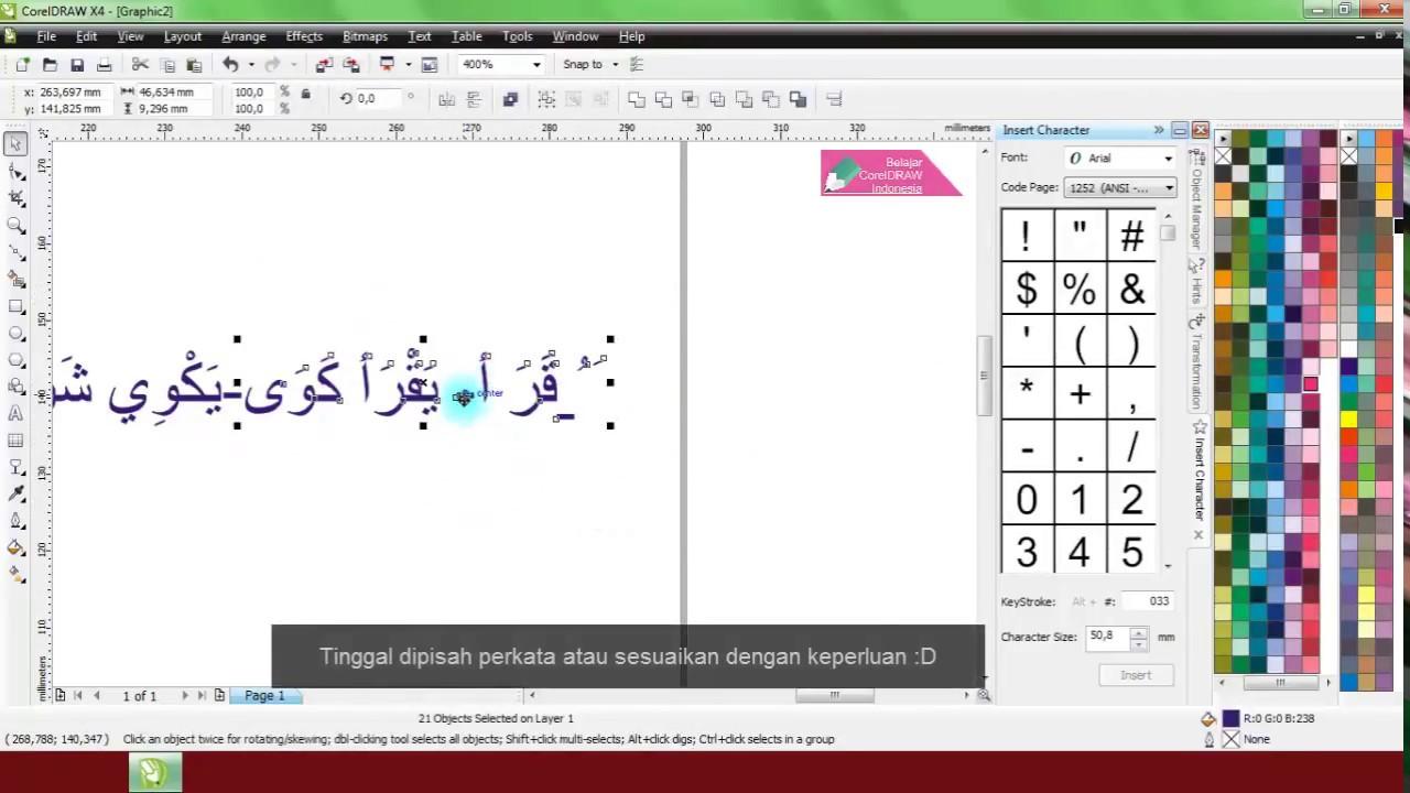 Belajar Coreldraw Dengan Software Great