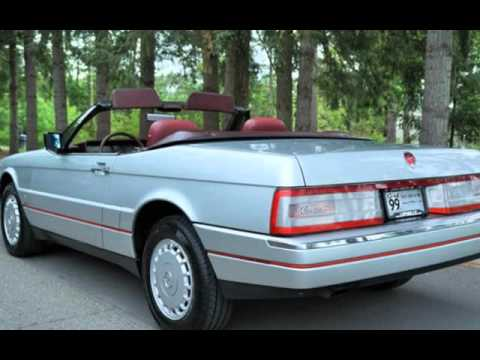 1987 cadillac allante convertible 1 owner rare find for. Black Bedroom Furniture Sets. Home Design Ideas