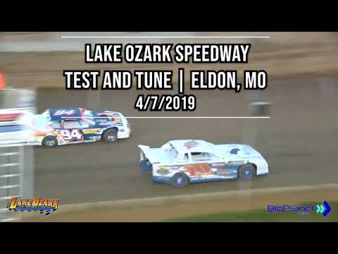 Lake Ozark Speedway  2019 Dirt Track Test and Tune Dates