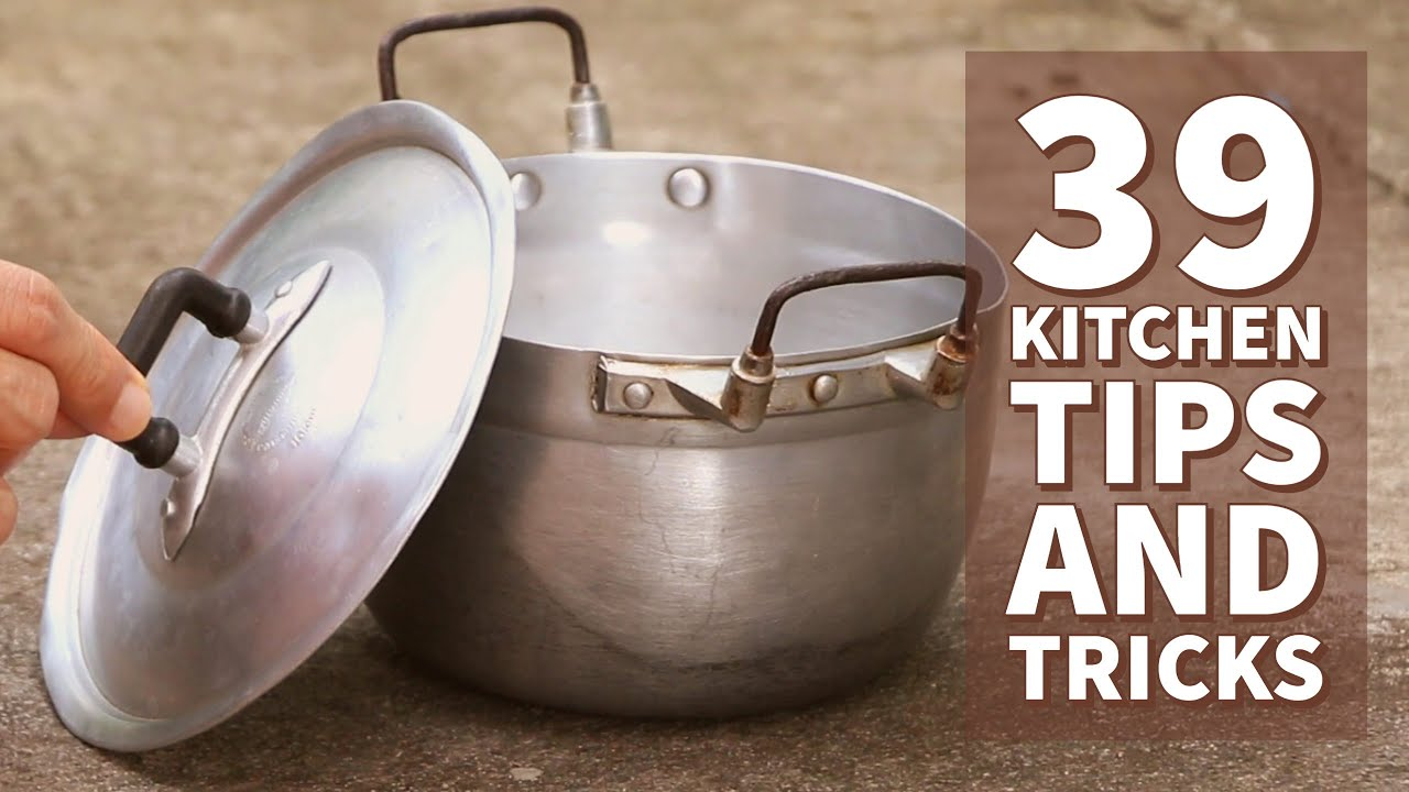 39 Awesome Kitchen Tips and Tricks | Thaitrick
