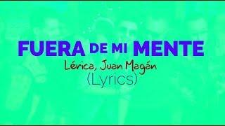 Download Lagu FUERA DE MI MENTE  - LYRICS, LETRAS - LIRICA, JUAN MAGAN Terbaru