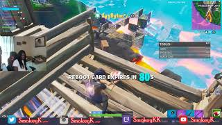 I DIED TWICE AND GOT CARRIED BY ONE OF THE BEST CONTROLLER PLAYERS IN FORTNITE... (He a Goat)