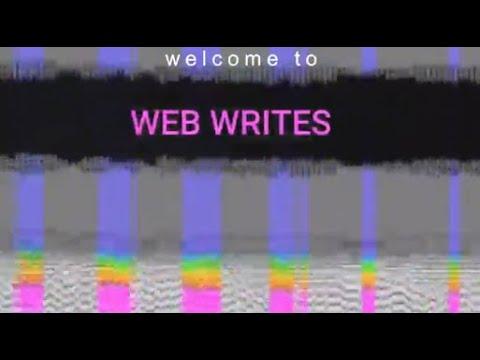 Welcome to Web Writes | Creative Writing | ArtistYear Create
