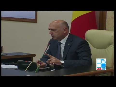 Ședința Guvernului Republicii Moldova