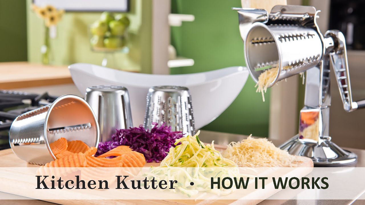 Kitchen Craft Cookware Using The Kitchen Kutter Youtube
