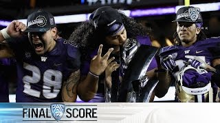Highlights: Washington football topples Colorado for first Pac-12 title since 2000
