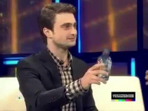 "Daniel Radcliffe on Russian TV program ""Centralnoe Televidenie"" | НТВ"