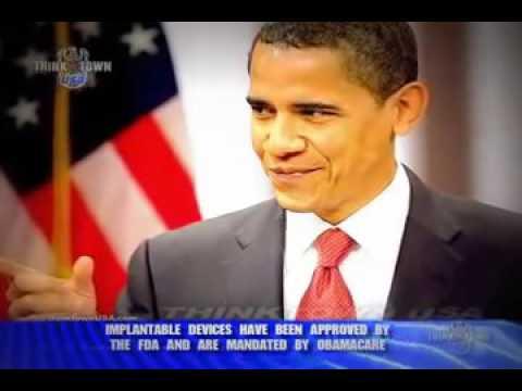 ALERT   Obamacare mandates FDA approved implantable RFID chips!   YouTube
