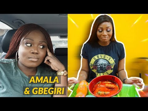 TRYING YORUBA FOOD FOR THE FIRST TIME WITH FAARI BY SISIOPE | DIMMA UMEH