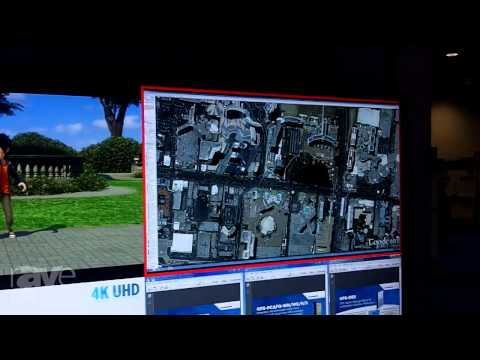 DSE 2015: NEC Display Shows X651UHD 65-Inch 4K Display in Multi-Picture Mode