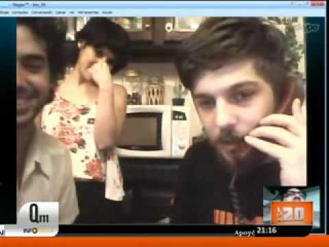Las 20 - Skype con Don Jorge, Casper, Naty y Rene