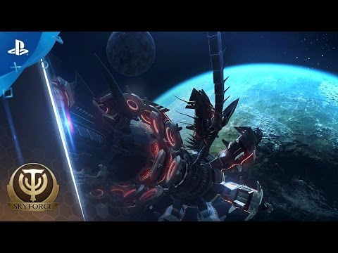 Skyforge - Release Date Announcement Trailer   PS4