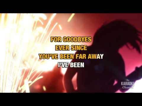 Too Late For Goodbyes in the style of Julian Lennon | Karaoke with Lyrics