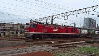 2018.07.16 貨物列車(4091列車)秋田駅発車