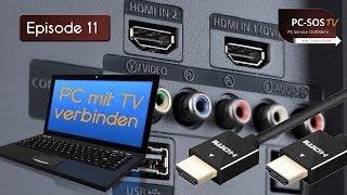 Bildübertragung vom PC zum TV - PC SOS TV Episode 11 2012[HD]