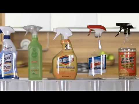 11.5 pH Strong Kangen Water vs Chemical Cleaners - WOW!!!