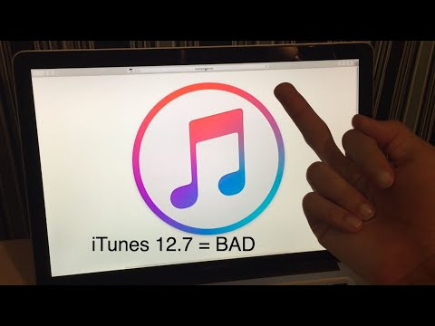 iTunes 12.7. The Worst iTunes Update. Ever.