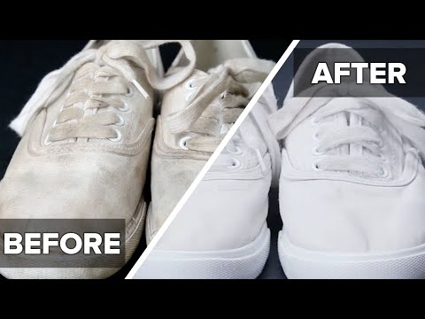 How To Clean Dirty Shoes